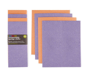 Compostable Sponge Cleaning Cloths (set of 4)