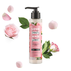 Love, Beauty and Planet - Scrub Petal Polish - Green Network Store UK