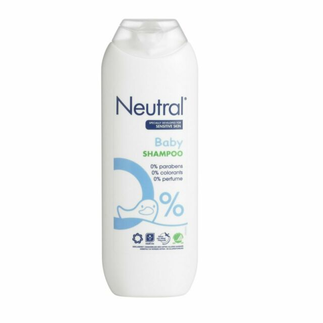 Neutral Baby Hair Shampoo for Sensitive Skin (Pack of 3)