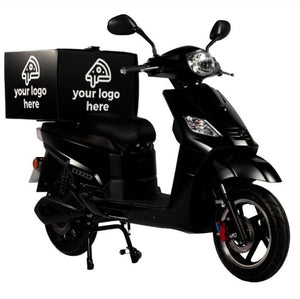 SR-1200d Electric Delivery Moped