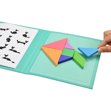 Load image into Gallery viewer, Tangram Educational Magnetic Wooden Puzzle - Green Network Store UK