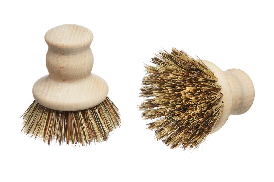 Eco Living - Wooden Pot Brush (FSC 100%) - Green Network Store UK