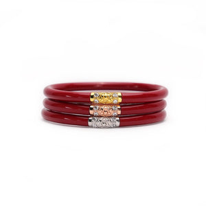 BudhaGirl Red Three Kings All Weather Bangles