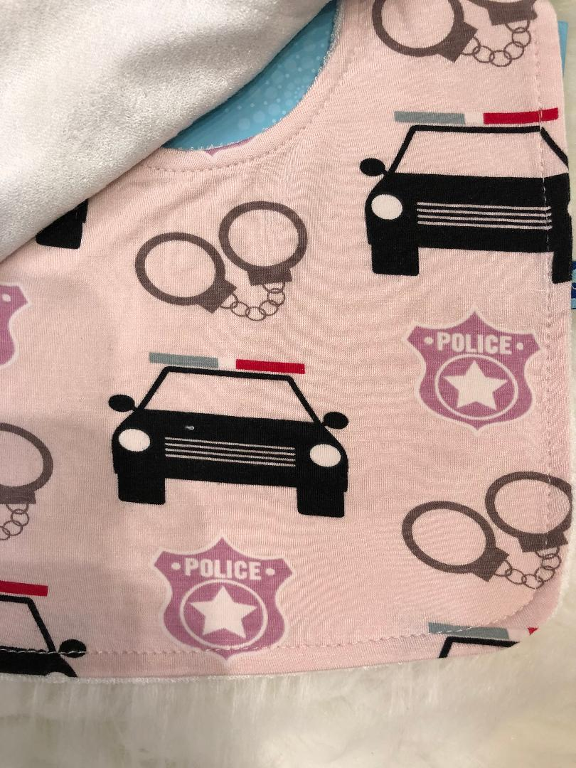 Kickee Pants Bib Set - Pegasus Construction, Midnight Forestry, and Macaroon Law Enforcement