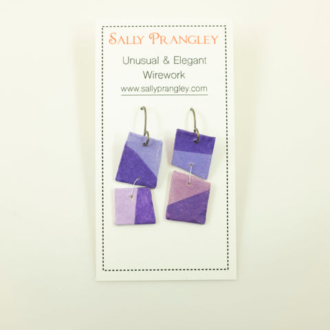 Sally Prangley- Color Block Earrings
