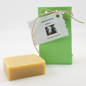 Lemongrass and Patchouli Goat Milk Soap