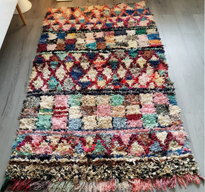 Colorful tribal rug LAMISS