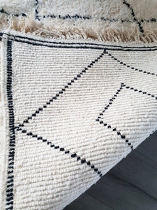 Beni Ourain rug SARAH with Finest quality handspun wool