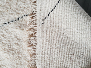 Beni Ourain rug HALA with Finest quality handspun wool