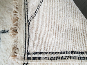 Beni Ourain rug ANEESSA with Finest quality handspun wool