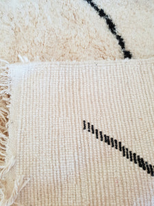 Beni Ourain rug with Finest quality handspun wool