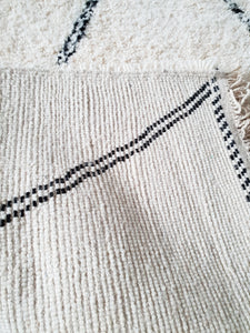 Beni Ourain rug FARAH with Finest quality handspun wool