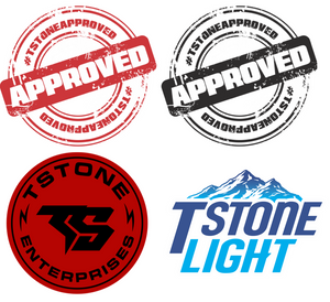 TSTONE 4 PACK - DECALS