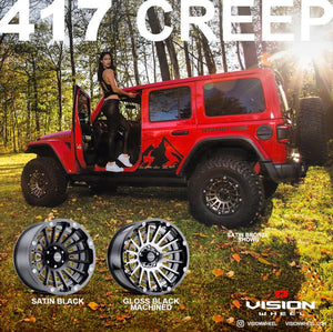 VISION WHEEL *Personalized*  POSTER - 417 CREEP