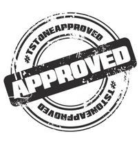 Load image into Gallery viewer, #TSTONEAPPROVED Stamp of Approval Decal