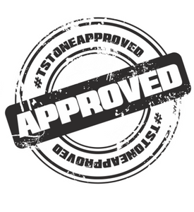 #TSTONEAPPROVED Stamp of Approval Decal