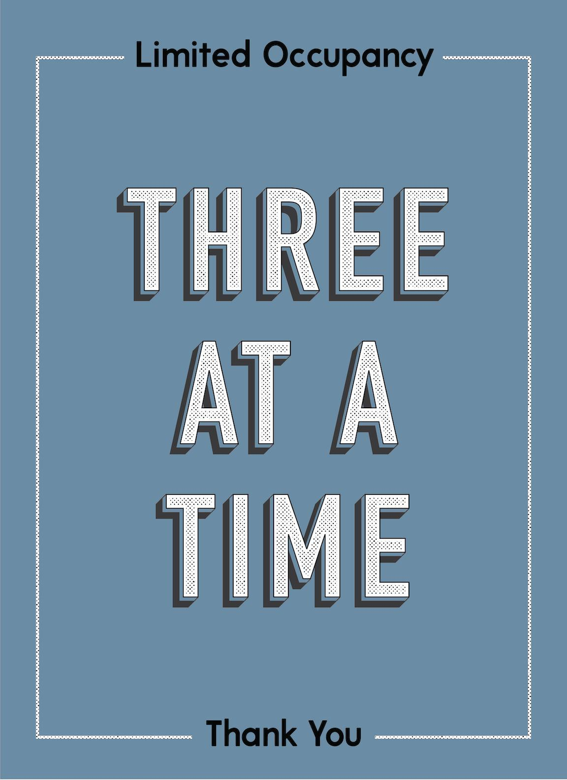 3 At A Time-Poster-indiesigns