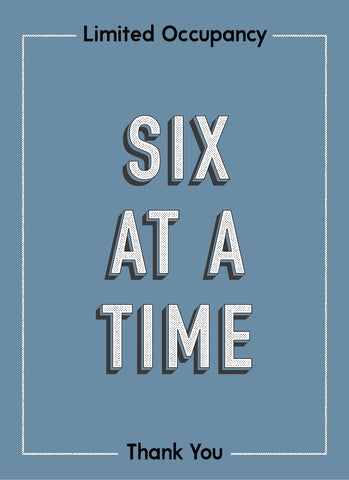6 At A Time-Poster-indiesigns