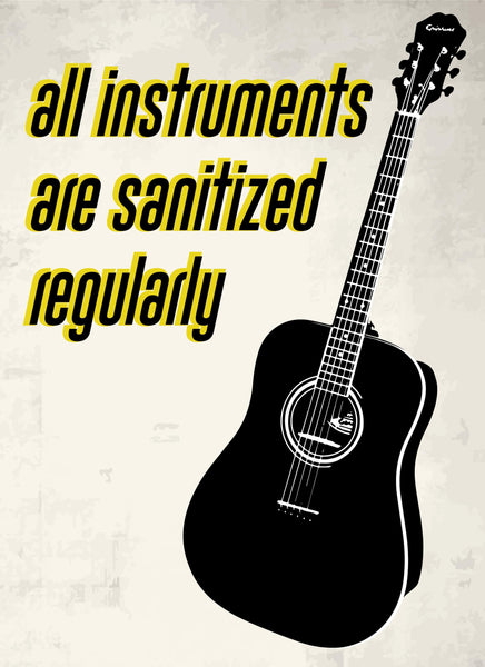 All Instruments Are Sanitize-Music Poster-indiesigns