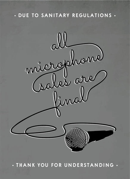 All Microphone Sales Are Final-Music Poster-indiesigns