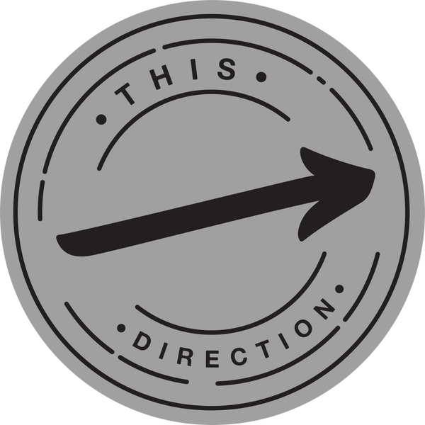Directional Sign-Floor decal-indiesigns