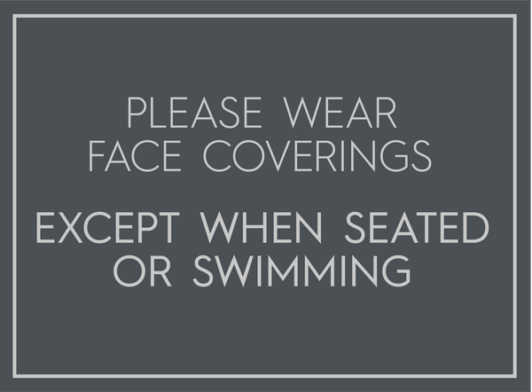 Face Covering For Pool Area-Poster-indiesigns