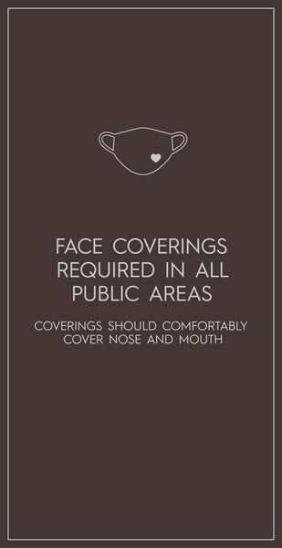 Face Covering Required Banner-Poster-indiesigns