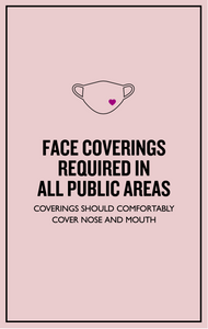 Face Coverings Required-indiesigns-indiesigns
