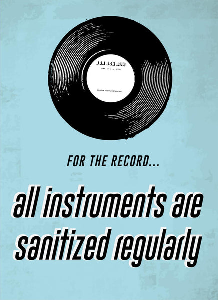For The Record-Music Poster-indiesigns