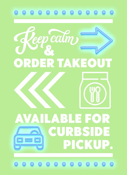 Keep Calm, Order Takeout-Poster-indiesigns