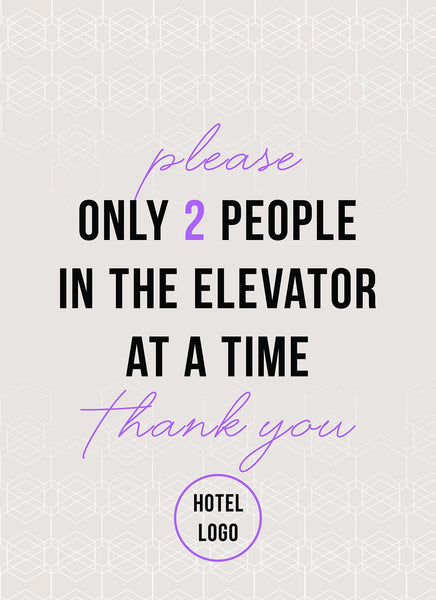 Limited Number of Guests in Elevator