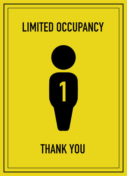 Limited Occupancy of 1-Poster-indiesigns