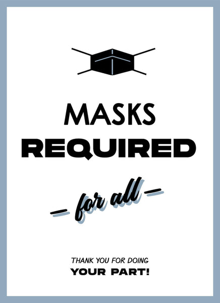 Mask Required for All-Poster-indiesigns