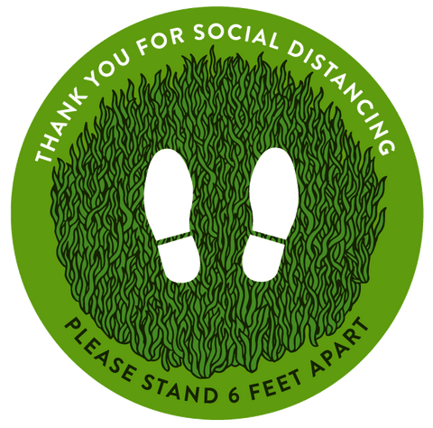 Natural Green Social Distance