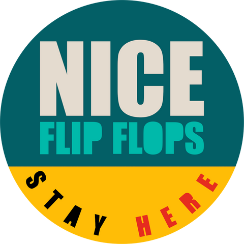 Nice Flip Flops Floor Decal-Floor decal-indiesigns