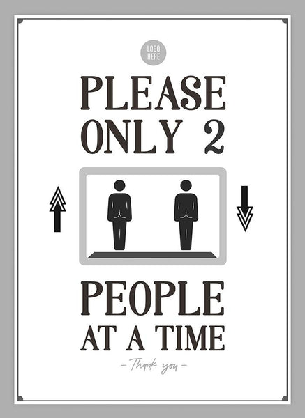 Only 2 People At A Time - HGH-Poster-indiesigns