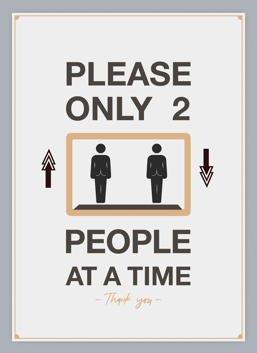 Only 2 People At A Time-Poster-indiesigns