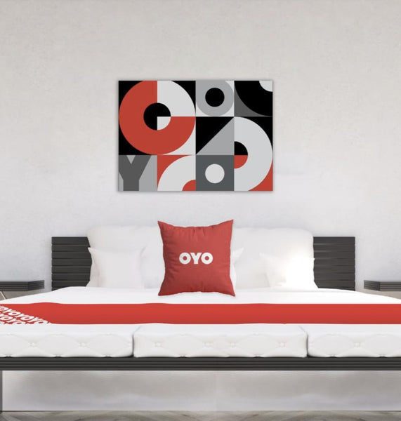 OYO Branded Guest Room Artwork-indiesigns