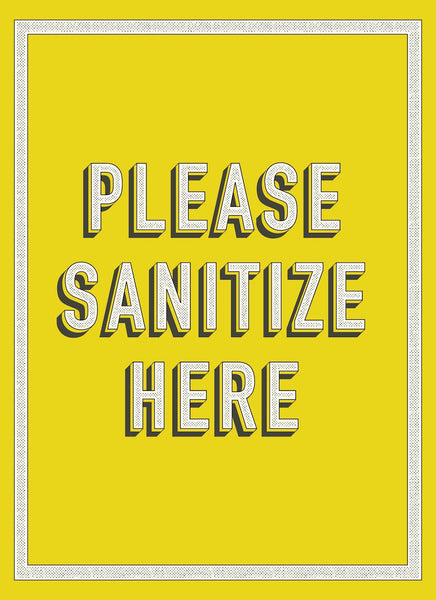 Please Sanitize Here-Poster-indiesigns