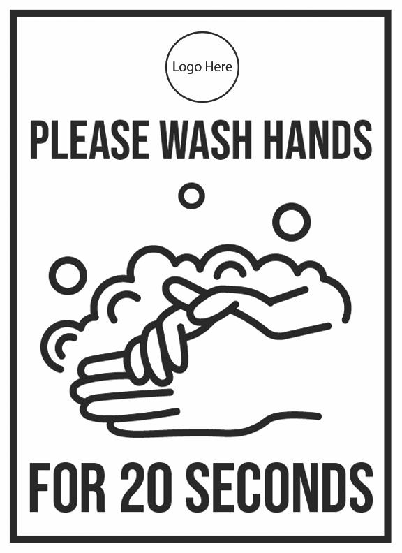 Please Wash Your Hands - HGH-indiesigns