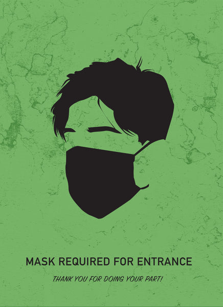 Please Wear A Mask-Poster-indiesigns