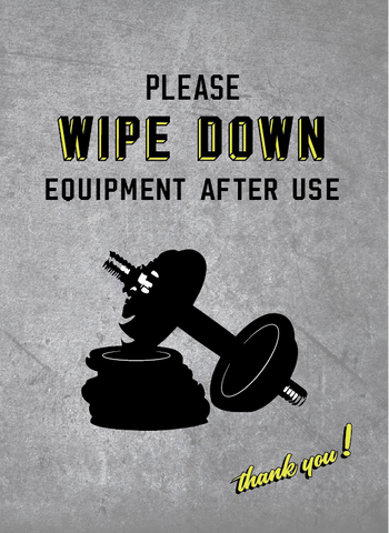 Please Wipe Down