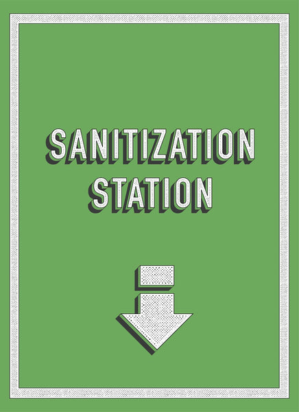 Sanitization Station-Poster-indiesigns