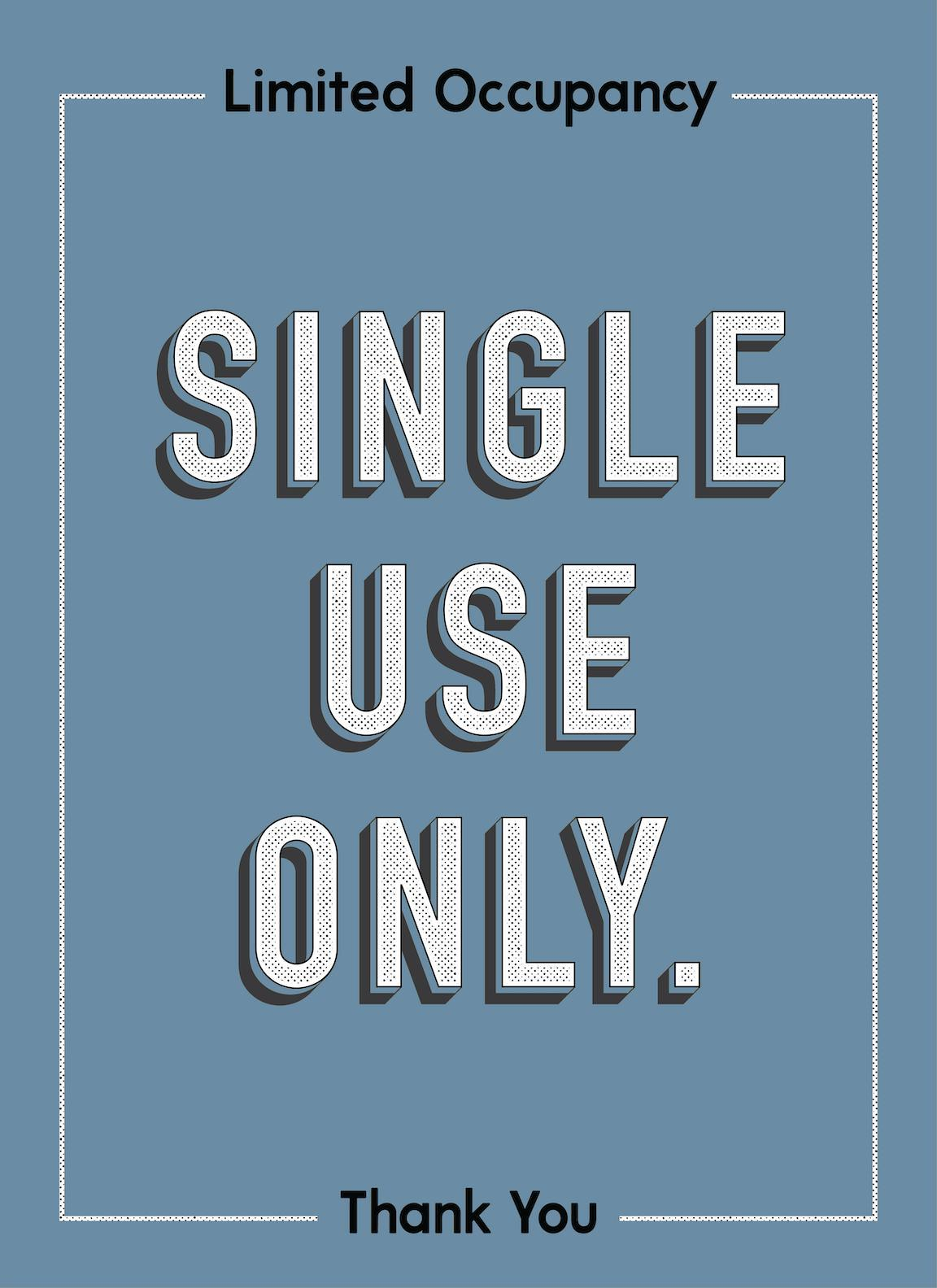 Single Use Only-Poster-indiesigns
