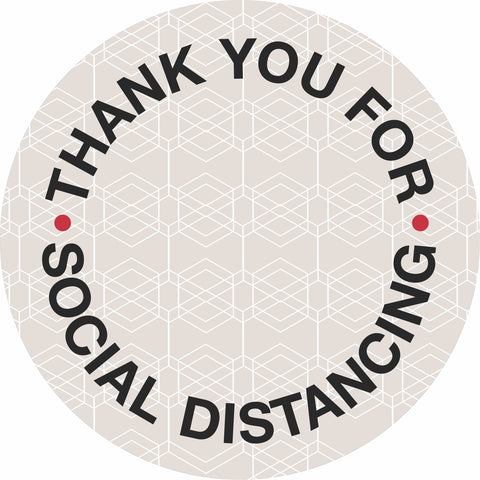Social Distance Floor Decal-Floor decal-indiesigns