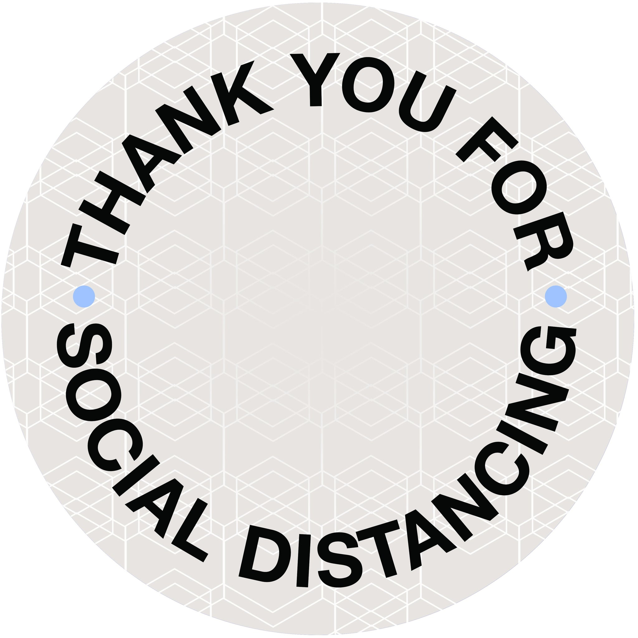 Social Distance Floor Decal