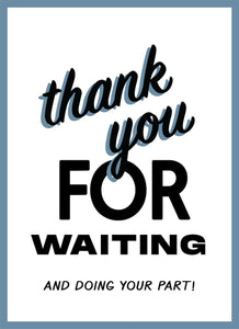 Thank You For Waiting-Poster-indiesigns
