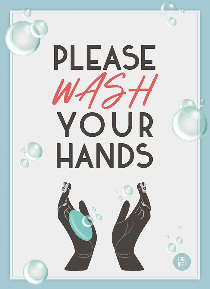 Wash Your Hands - HGH-Poster-indiesigns