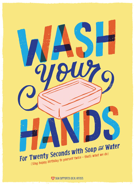 Wash Your Hands, Seriously-Poster-indiesigns