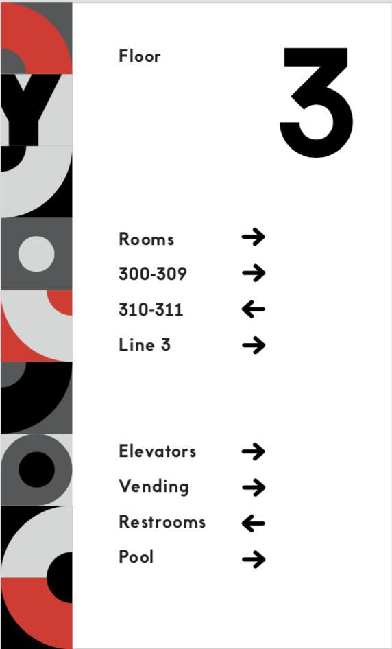 Wayfinding Signage - Floor Overview-indiesigns